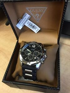 Guess Watch with Silicone Strap Strathcona County Edmonton Area image 2