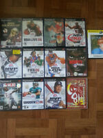 PS2 Sports Games- ESPN, NBA, NFL, MVP Baseball, FIFA