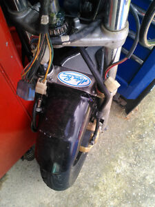 FZ600 YAMAHA 88 PARTING OUT THE BIKE  RZ350 RZ500 YX600 RADIAN Windsor Region Ontario image 3
