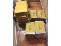 "Huge job lot of 315 Jiffy ""Green"" padded mailing bags / envelopes"