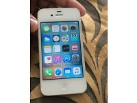 iPhone 4s 8gb locked to 02 network. Good condition