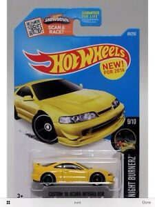 Acura Honda Integra GSR New 2016 Hotwheels Japanese  for sell