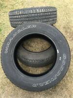 3 Goodyear Wrangler Tires (6000KM)