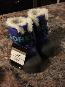 SOREL BOOTS TODDLER SIZE 4 - NEW WITH TAGS London Ontario image 1