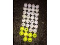 34 Titleist DT Solo Golf Balls