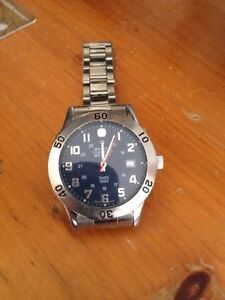Wenger mens stainless steel watch London Ontario image 1