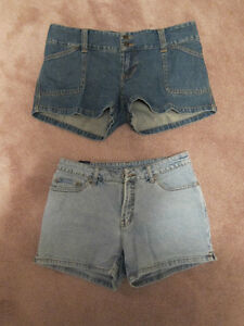 Assorted Jeans, Demin shorts, skirts & capris, and khaki capris