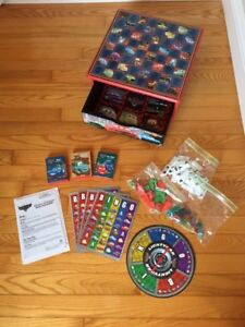 Lightning McQueen box of games