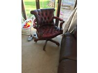 Captains Chair Chesterfield Chair
