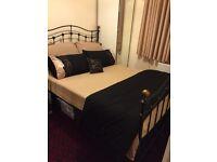 Black King Size Bed