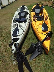 HOBIE REVOLUTION 11 KAYAK PAIR Elliott Heads Bundaberg City Preview