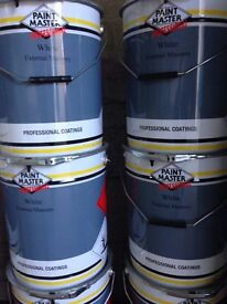 Paint Master White Masonry Paint (20L Drums)