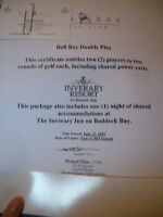 Bell Bay Double Play Gift Certificate!
