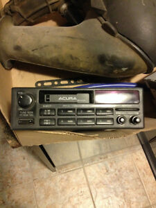 1995 Acura Integra stock cassette player with radio