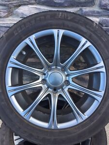 2009-14 Acura TLWinter Tire Package 225 55 17 with TPMS