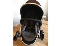 ICandy lower pushchair with adaptors and original rain cover