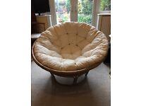 Bamboo circular chair