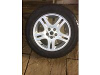 Land Rover discovery wheels and tyres , very good condition
