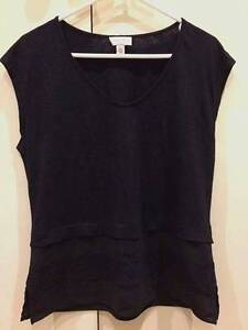 Witchery Black T-Shirt (Size XS) Brighton Bayside Area Preview