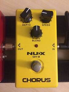 Nux Chorus Guitar Pedal CH-3 Melbourne CBD Melbourne City Preview
