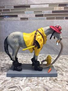 "The Trail of Painted Ponies ""Fireman Pony"""