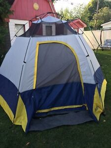 Tente 7 personnes camping