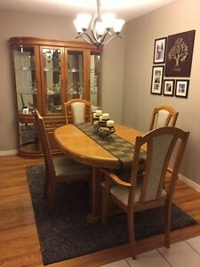 Oak Dining Set  - $350 Cambridge Kitchener Area image 1