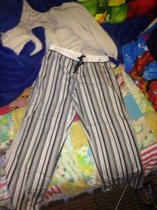 Cute striped pjs- WASAGA or COLLINGWOOD only