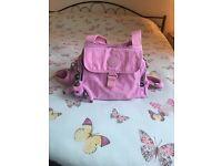 Kipling fairfax handbag pink