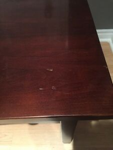 Custom made Solid cherry end table with drawer Stratford Kitchener Area image 2