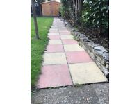 47 Coloured Paving Slabs