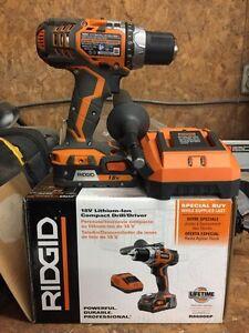 Rigid Cordless Drill/ Driver