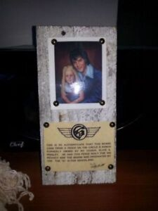 ★ Elvis Presley Authentic board - Fence at Circle G ★
