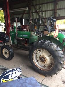 1967 Oliver 550 runs very well Bush hog included London Ontario image 2