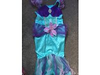 Ariel dress up 5-6