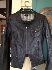 Le Chateau -faux-leather (pleather?)  jacket