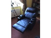 Leather Massage Cinema / Gaming Reclining Chair with Heat
