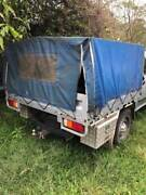 Steel Dual Cab Tray with Canopy, Suit Utes 4X4 Etc Nerang Gold Coast West Preview