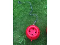 Hanging likit lick ball stable toy