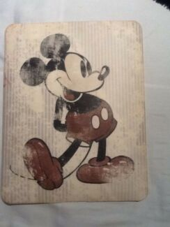 Mickey Mouse iPad hard case / cover LIKE NEW