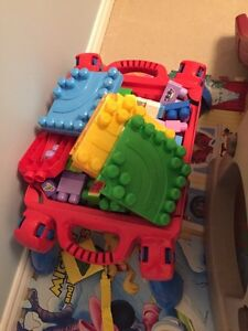 Toys and Booster Chair