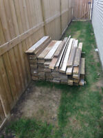 4' and 6' Pressure Treated Fence boards