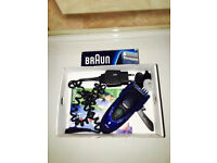 Braun men's shaver,beard&head trimmer 3-in-1,immaculate,works perfect, bargain at £20