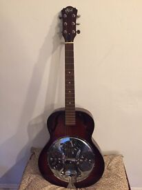 Oldfield acoustic resonator guitar blues offers considered