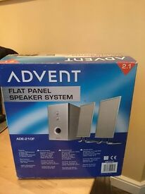 Advent speakers 2 in 1 new condition