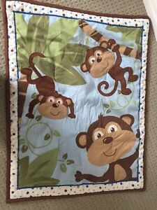 Monkey theme baby boy nursery lot Kitchener / Waterloo Kitchener Area image 6