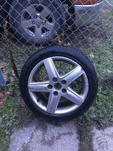 Audi A4 tire & rim