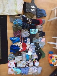 Boys 3-6, 6 month clothing lot