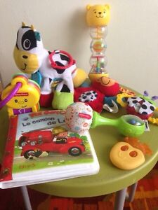 7 baby toys for 15$