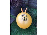 ORANGE RETRO SPACE HOPPER